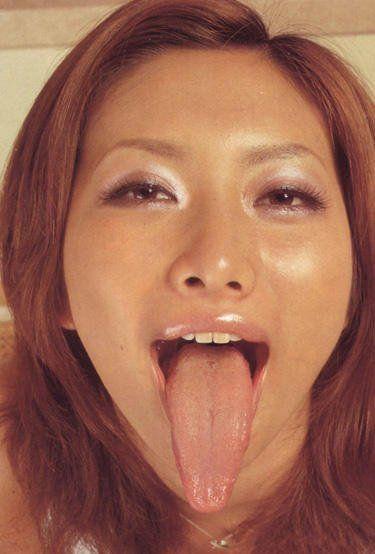 Long tongue nude girls