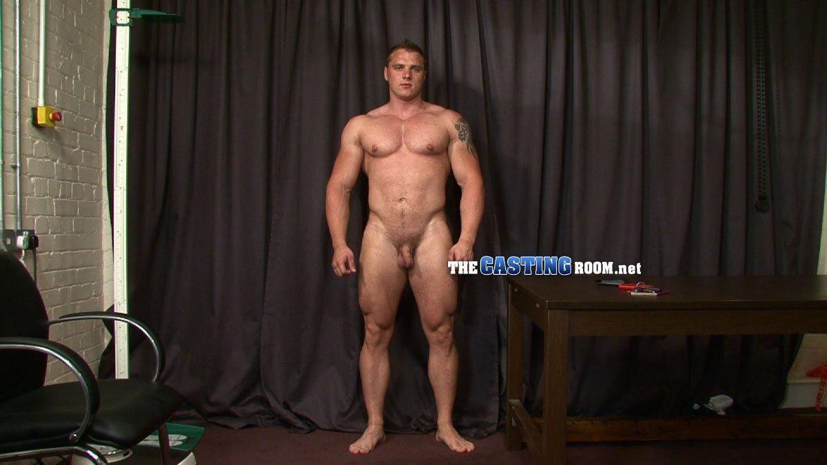 Male bodybuilders bondage