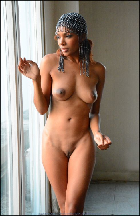 Real african nude girlbody