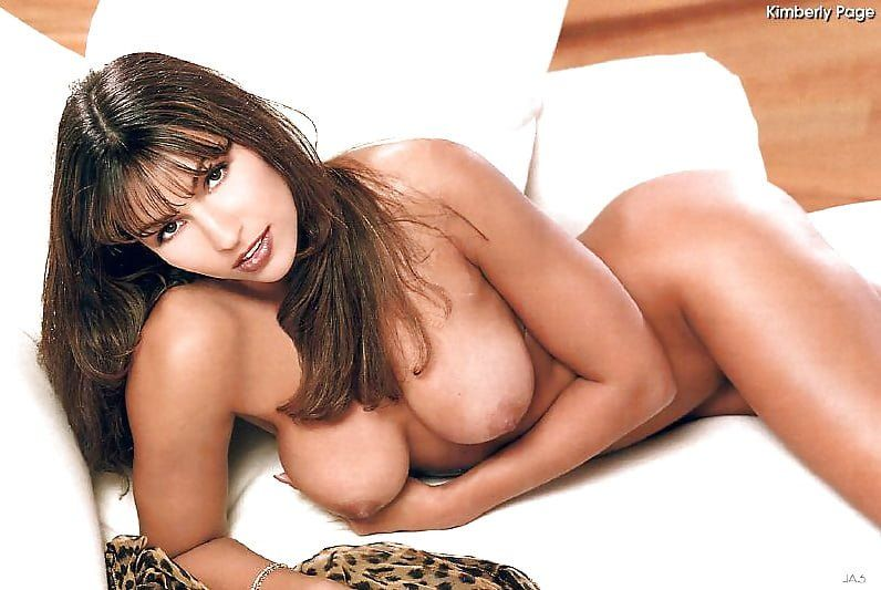 Kimberly playboy nude page look