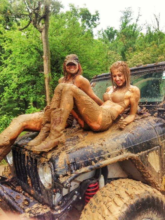 Congratulate, seems naked pleasure in mud