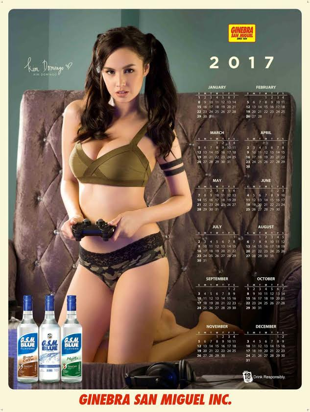 Newest pinay calendar model