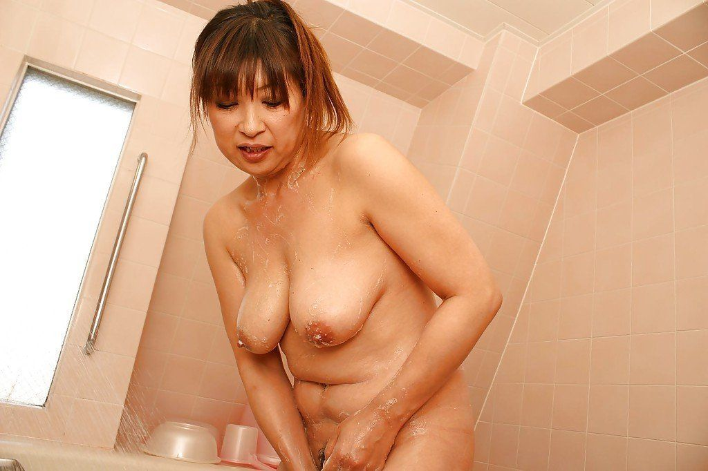 best of Mature bath japanese Nude
