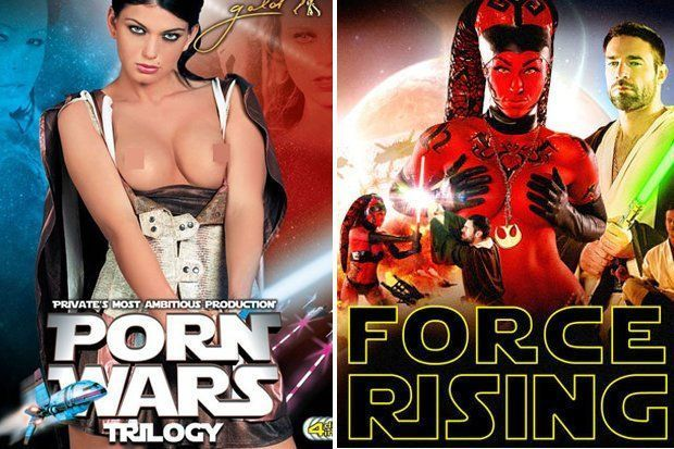 Excited private star wars porn
