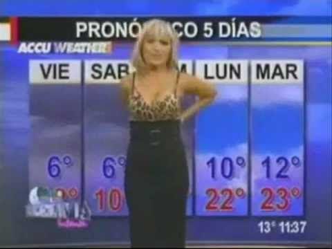 Weather girl nude words