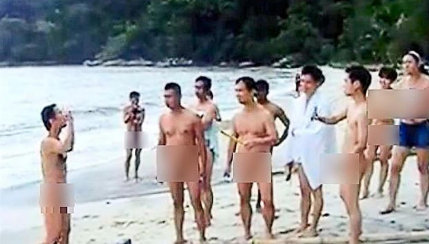 Hentai Naked Beach