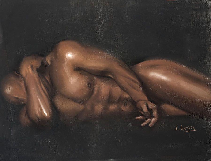 Naked black libras men something
