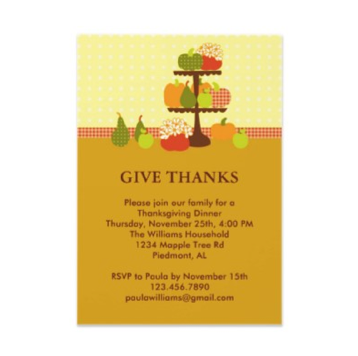 best of Invitation funny Thanksgiving wording
