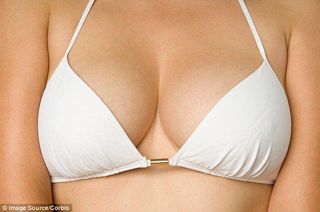Seems titties ooze out of bra not