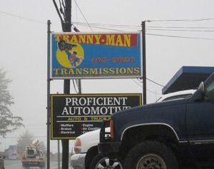 Tranny man transmissions