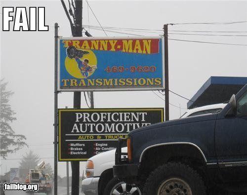 Taze reccomend Tranny man transmissions