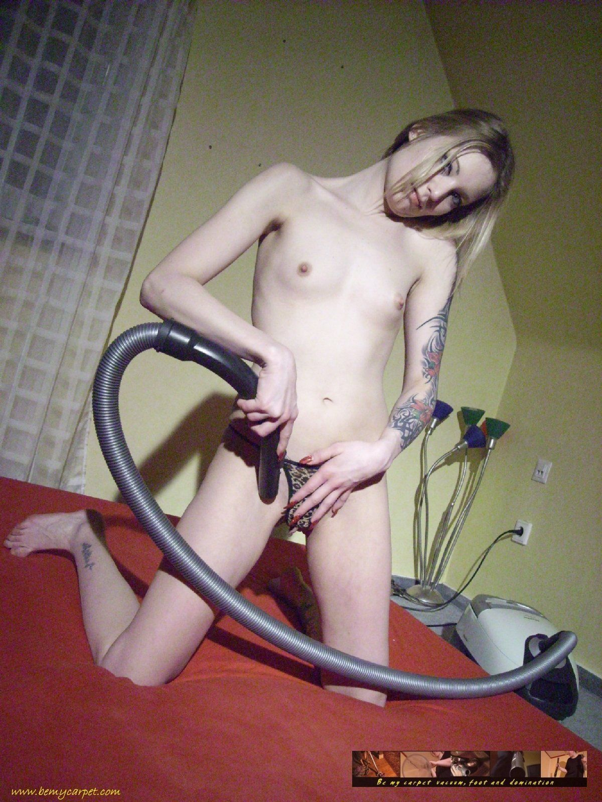 Matchpoint reccomend Vacuum cleaner blow job