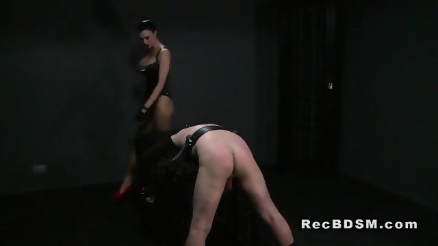 Girls crying from burning anal