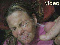 Wife facial video