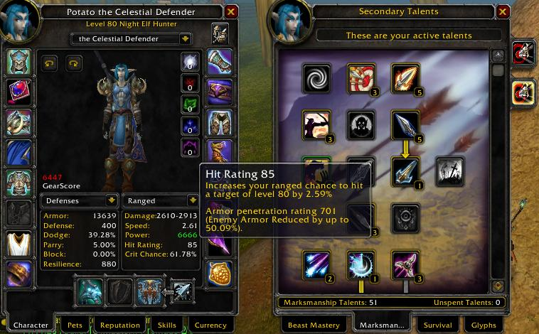 Opinion cap armor wow penetration question interesting, too
