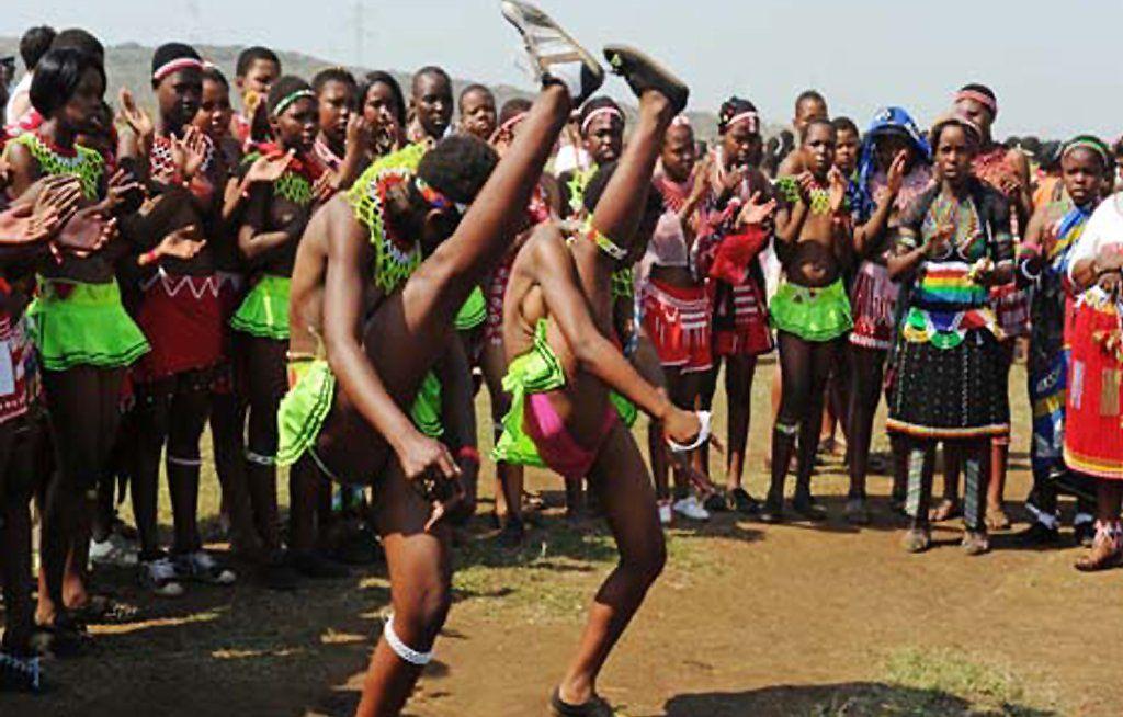 best of Reed dance girls Zulu